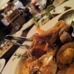 魚介料理遠景