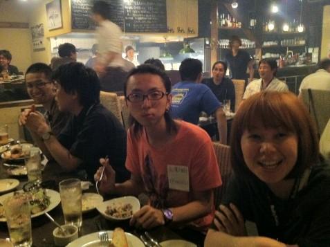 @iori0121 と @adzuki34さん、RubyKaigiスタッフお疲れ様でした!